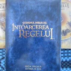 STAPANUL INELELOR - INTOARCEREA REGELUI EDITIA SPECIALA EXTINSA (4 DVD-uri) - Film Colectie, Romana