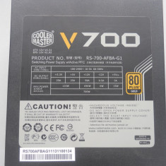Sursa Cooler Master V-Series V700, 80+ Gold 700W. - Sursa PC Cooler Master, 700 Watt