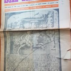 Ziarul saptamana 4 iulie 1980-art. dacia preistorica