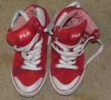 Fila rosii de copii tenisi/adidasi/incaltaminte sport,marimea 31