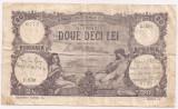 ROMANIA 20 LEI SEPTEMBRIE 1920 VF