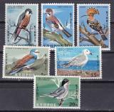 Cipru  1969  fauna  pasari  MI 322-327   MNH  w48, Nestampilat