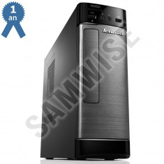 Calculator Lenovo H515s, AMD Dual Core E1-2500 1.4GHz, 4GB DDR3, 250GB, USB 3.0, HDMI, DVD-RW - Sisteme desktop fara monitor