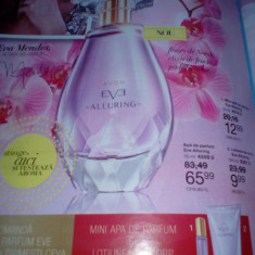 Set Eve Alluring apa parfum 50 ml, loțiune corp 150 ml, mini apa parfum 10 ml - Set parfum Avon