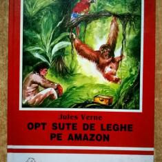 Jules Verne - Opt sute de leghe pe Amazon - Carte de povesti