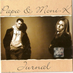 Papa Junior & Moni-K – Jurnal (1 CD) - Muzica Pop roton