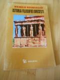 WILHELM WINDELBAND--ISTORIA FILOSOFIEI GRECESTI