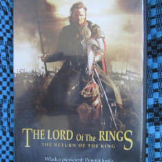 THE LORD OF THE RING 3 - THE RETURN OF THE KING (1 DVD FILM, SUBTITRARE ROMANA!)
