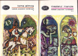 BALADE POPULARE ROMANESTI - TOMA ALIMOS. MESTERUL MANOLE ( 2 VOL) (BPT 366-367)
