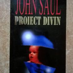 John Saul - Proiect divin - Carte politiste