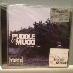 PUDDLE of MUDD - COME CLEAN (2001/GEFFEN/GERMANY) - CD ORIGINAL/Sigilat/Nou, Geffen rec