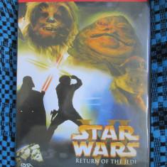 STAR WARS VI - RETURN OF THE JEDI (1 DVD FILM - cu SUBTITRARE IN ROMANA!)
