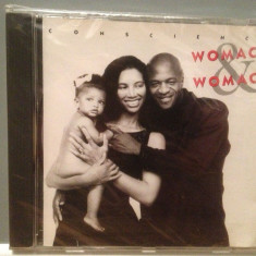 WOMACK & WOMACK - CONSCIENCE (1988/ISLAND/RFG) - CD ORIGINAL/Sigilat/Nou - Muzica Pop Island rec