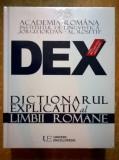 Dex Dictionarul explicativ al limbii romane {2016}