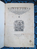 DIVI AURELII AUGUSTINI (SFANTUL AUGUSTIN) - NONUS TOMUS OPERUM (VENETIA - 1550)