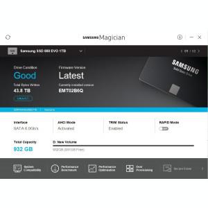 1TB SSD Laptop SATA III Samsung 850 EVO SSD SATA 3  , 2.5 , Testat