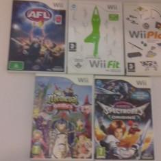 LOT 5 jocuri - Medieval Games - Spectrobes origins - Nintendo Wii [Second hand] - Jocuri WII, Actiune, 3+, Multiplayer