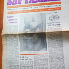 Ziarul saptamana 16 februarie 1979- articolul