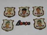 Lot 6 insigne fotbal - FC BARCELONA