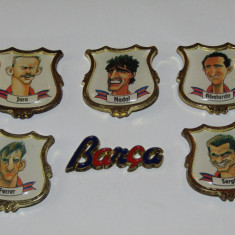 Lot 6 insigne fotbal - FC BARCELONA - Insigna fotbal