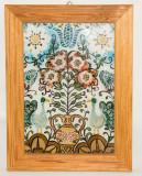 Tablou model rustic - pictura pe sticla, Natura statica, Ulei, Altul
