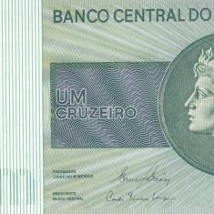 Bancnota Brazilia 1 Cruzeiro (1980) - P191Ac UNC - bancnota america