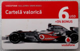 ROMANIA CARTELA Connex 6 $ McLaren Mercedes - PENTRU COLECTIONARI **