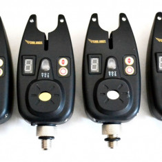 Set 4 Avertizori / Senzori Marca Cool Angel Impermeabili Mufa Jack 9V - Avertizor pescuit, Electronice
