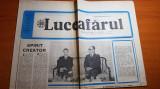 ziarul luceafarul 11 iulie 1987-vizita lui ceausescu in polonia
