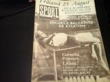 Revista Sport - Nr. 16, august 1970, 19 pag