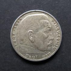 Germania - 2 Reichsmark 1939 A - Argint, Europa