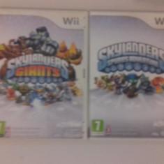 LOT 2 jocuri - Skylanders - Giants - Spyro - Nintendo Wii [Second hand] - Jocuri WII, Actiune, 3+, Multiplayer