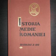 STEFAN PASCU - ISTORIA MEDIE A ROMANIEI (sec. al X-lea - sec. al XVI-lea)