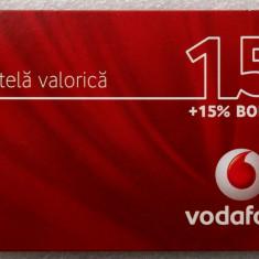ROMANIA CARTELA Vodafone 15 - PENTRU COLECTIONARI ** - Cartela GSM