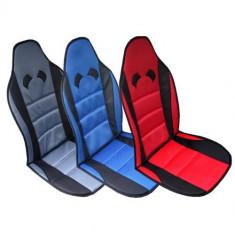 Husa scaun auto cu tetiera RoGroup microfibra