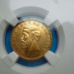 20 LEI 1890 AUR - Moneda Romania