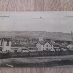 Romania Toplita Harghita gara leporello 1916 KuK Feldpost - Carte Postala Transilvania 1904-1918, Circulata, Fotografie