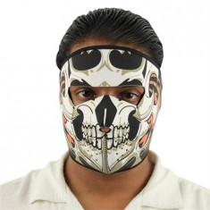 Masca Full Head Neopren Craniu dragon cu Flacari