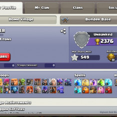 Cont clash of clans th9.5 max - Joc PC Supercell