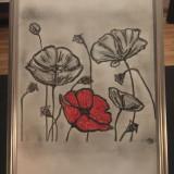 Tablou desen grafic handmade