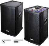 Cumpara ieftin SISTEM PROFESIONAL 2 BOXE ACTIVE,MIXER,MP3 PLAYER,500WATT,2 MICROFOANE WIRELESS.