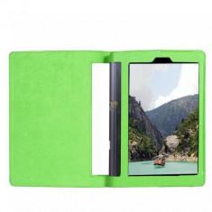 Husa Premium Book Cover tableta Lenovo Yoga 3 YT3-X50M, YT3-X50F, VERDE 10.1 - Husa Tableta Oem