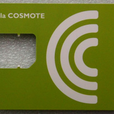 ROMANIA CARTELA Cosmote fara SIM cip model 2 - PENTRU COLECTIONARI ** - Cartela GSM