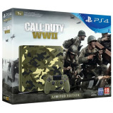 Consola SONY PlayStation 4 Slim 1 TB Limited Edition + joc Call of Duty WWII Limited Edition + Call of Duty WWII
