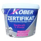 Vopsea super lavabila Kober Zertifikat 15l / 24kg