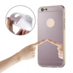 Husa TPU Iphone 6 / 6S Oglinda rose gold