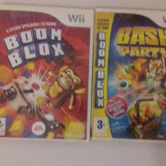 LOT 2 jocuri - Boom Blox - Nintendo Wii [Second hand] - Jocuri WII, Arcade, 3+, Multiplayer