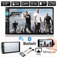 "Casetofon Dvd Mp3 Auto 7"" Bluetooth  Card USB 2DIN  Navigatie prin MirrorLink"