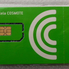 ROMANIA CARTELA SIM Cosmote neutilizata sigilata tipla - PENTRU COLECTIONARI ** - Cartela GSM