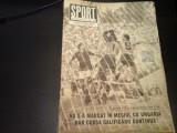 Revista Sport - Nr. 9, septembrie 1981, 23 pag